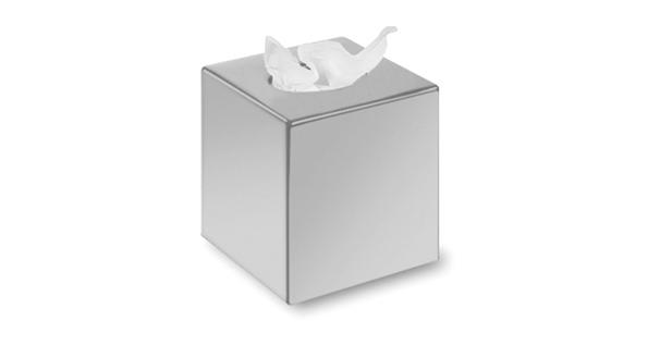 boite-mouchoirs-abs-chrome-cubic