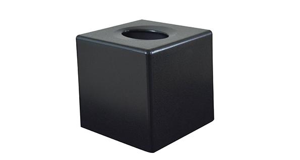 boite-mouchoirs-noir-cubique