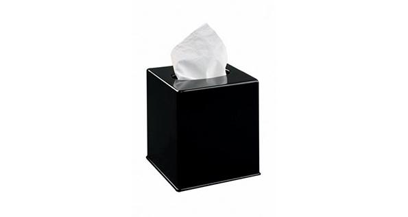 boite-mouchoirs-noire-cube