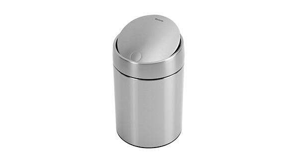 poubelle-salle-de-bain-5L-inox-satine-slide-bin