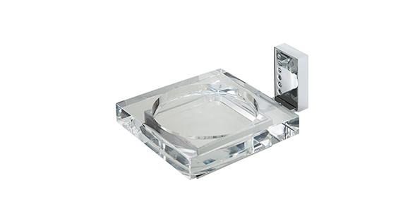 porte-savon-laiton-chrome-verre-transparent-mural-4704
