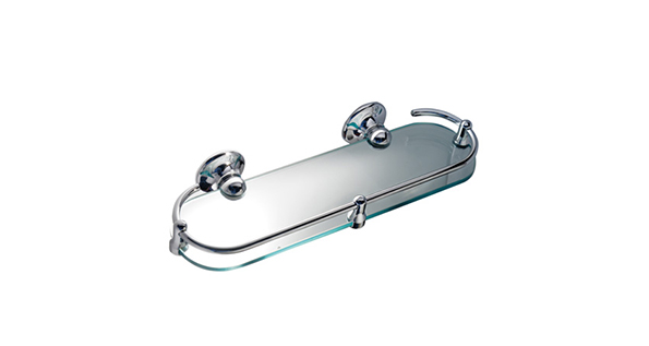 Porte verre tablettes en verre grs guest room supply for Tablette salle de bain