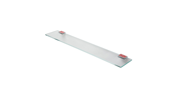 Porte verre tablettes en verre grs guest room supply for Porte verre salle de bain