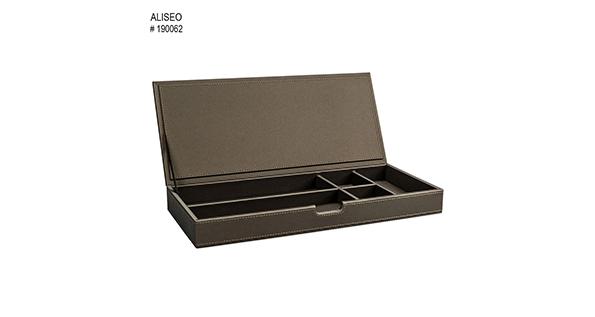 casier-rangement-simili-cuir-taupe-londoner-190062