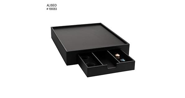 plateau-de-courtoisie-tiroir-simili-cuir-noir-londoner-noir-190083-2