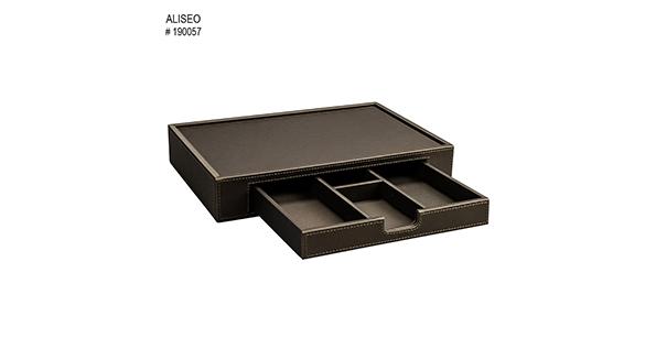 plateau-de-courtoisie-tiroir-simili-cuir-taupe-londoner-190057-2